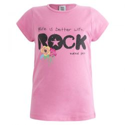 Prévente - Rockabilly - T-shirt rose