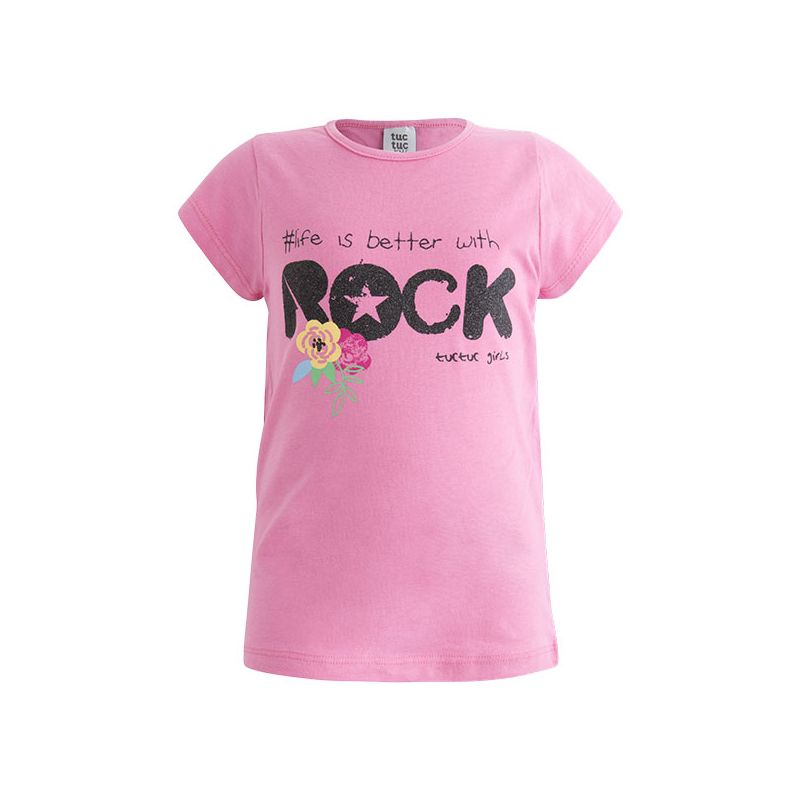 Prévente - Rockabilly - T-shirt rose