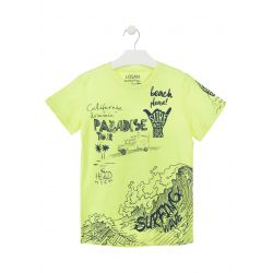 Prévente - Big Wave - T-shirt jaune