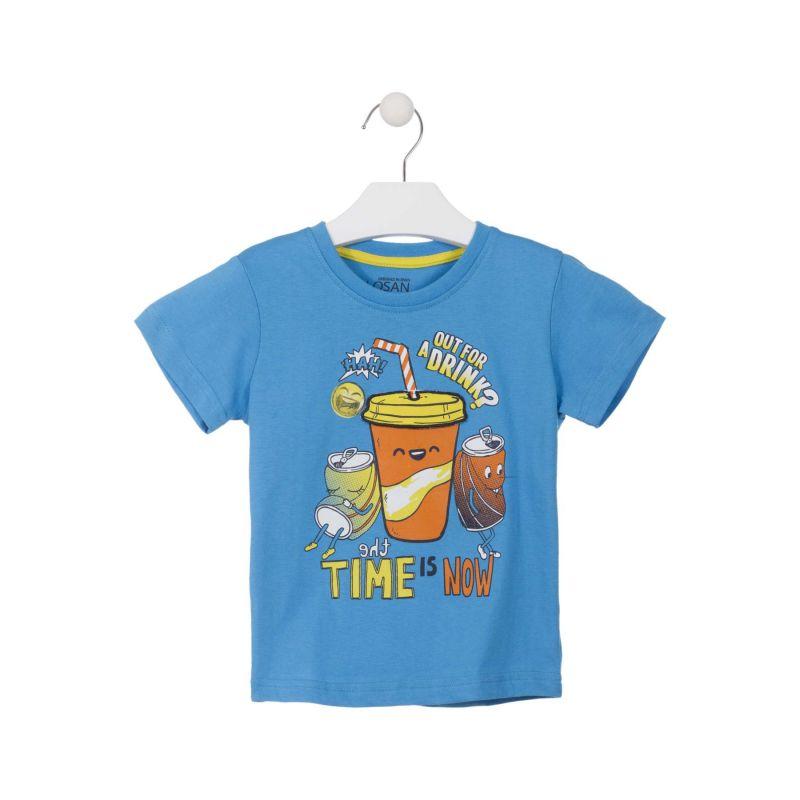 Prévente - Cool & Fun - T-shirt bleu