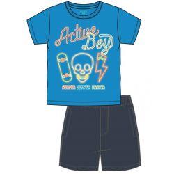 Prévente - Ens. T-shirt bleu et bermuda