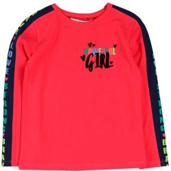 Prévente - Girl Rules - T-shirt groseille