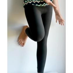 Legging enfant uni noir