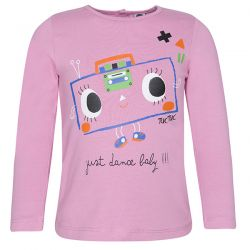 Prévente - Play Radio - T-shirt rose