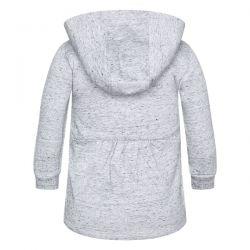 Prévente - Artic Bears - Robe en molleton grise à capuchon