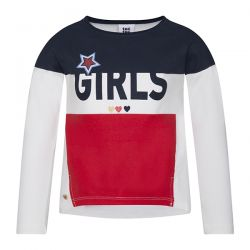 Prévente - Girls Team -  Robe à T-shirt block