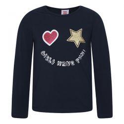 Prévente - Girls Team - T-shirt marine
