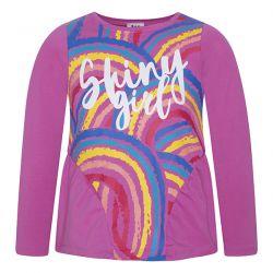 Prévente - Rainbows - T-shirt fuschia