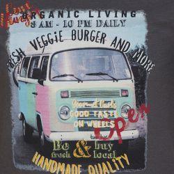 Prévente - Veggie Van - T-shirt gris