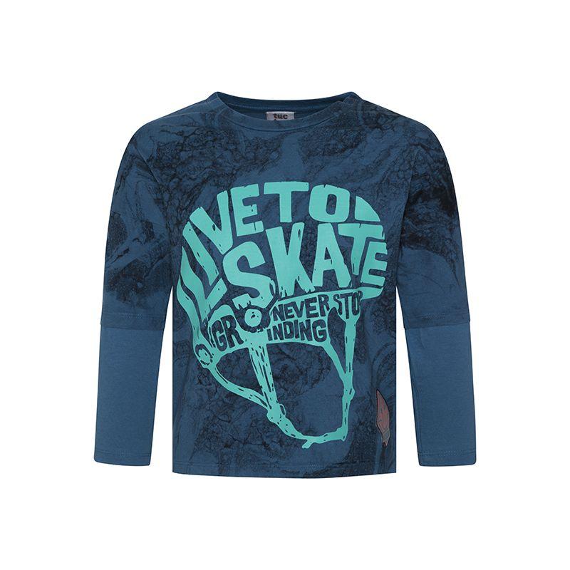 Prévente - Free Style - T-shirt bleu