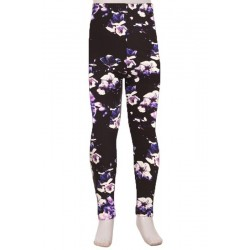 Legging enfant Purple Zanni