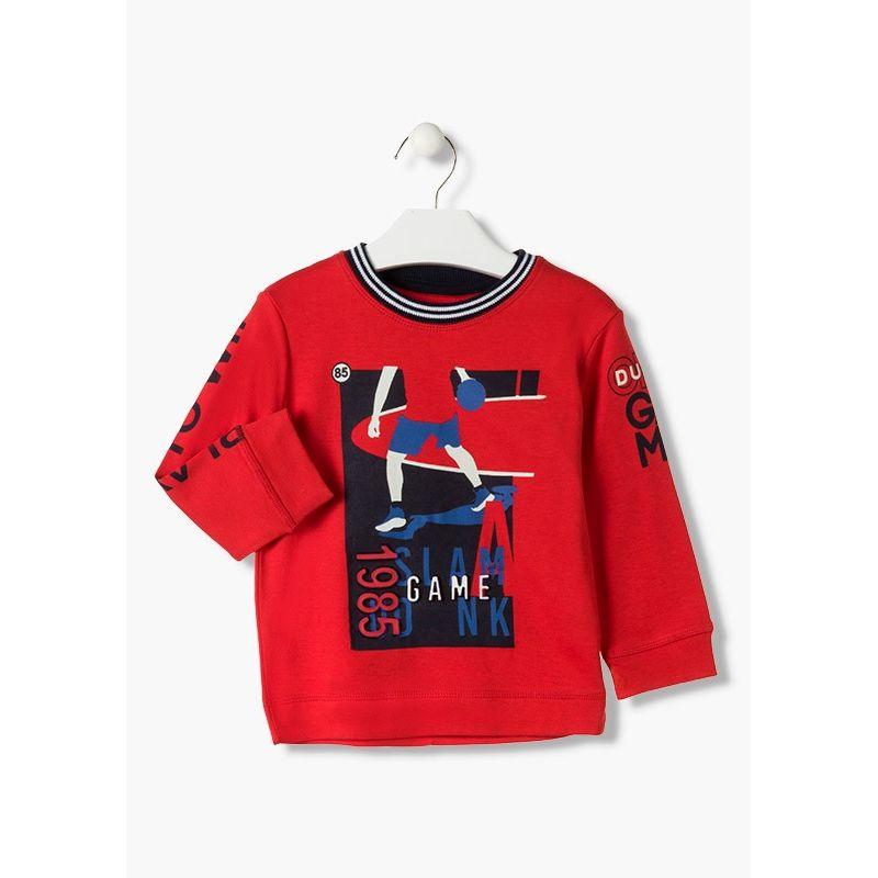 Prévente - College - T-shirt rouge