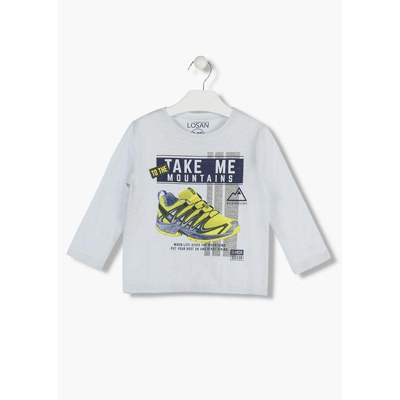Prévente - New Future - T-shirt gris perle