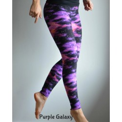 Legging Purple Galaxy