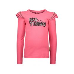 Prévente - On The Road - T-shirt shocking pink