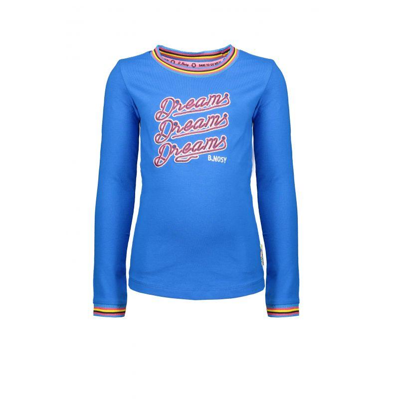 Prévente - B. Iconic - T-shirt  azure blue