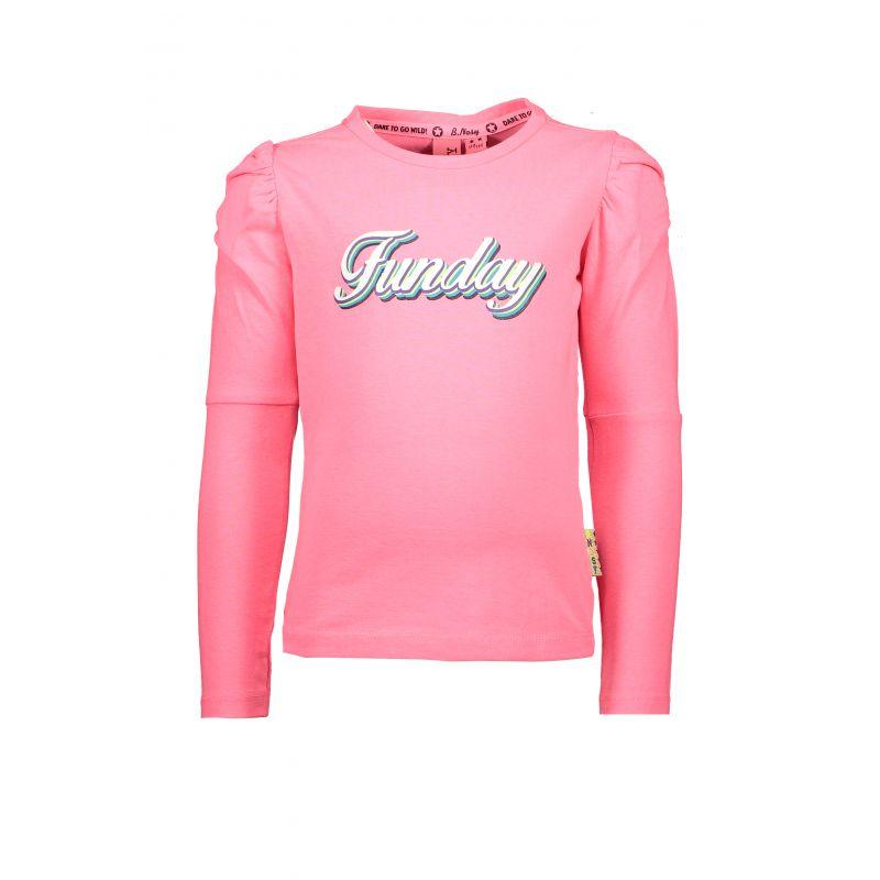Prévente - Zebra Dot - T-shirt  shocking pink