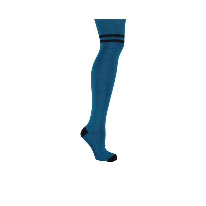 Prévente - B. Iconic - Collant azure blue