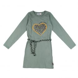 "Prévente - Robe verte ""first love"""