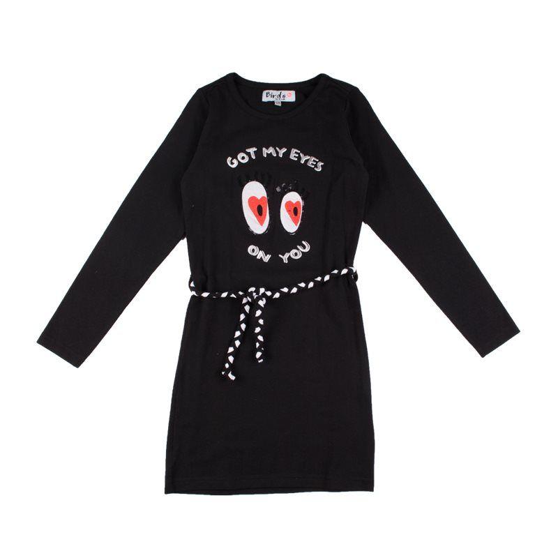 "Prévente - Robe noire ""got my eyes on you"""