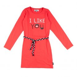 "Prévente - Robe rouge ""I like you"""
