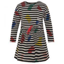 creative - robe rayée