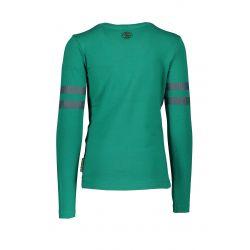 B. A Cheerleader - T-shirt emerald green  avec paillettes sur les manches