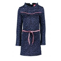B. Unique - Robe en denim bleue