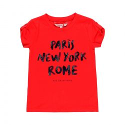 Prévente - By The Sea - T-shirt rouge