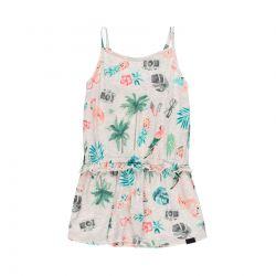 Prévente - Tropical Safari - Robe imprimé tropical