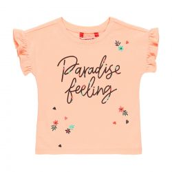 Prévente - Tropical Safari - T-shirt pêche