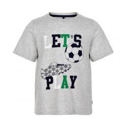 Prévente - Metoo - T-shirt gris chiné Let's Play