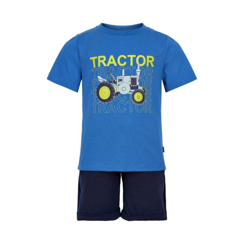 Prévente - Metoo - Ens. Short et t-shirt saphir