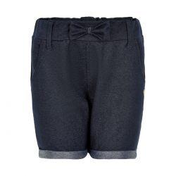 Prévente - Metoo - Short en tricot de denim bleu