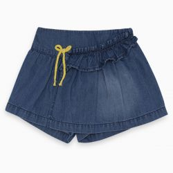 Prévente - Healthy Life - Jupe short en denim