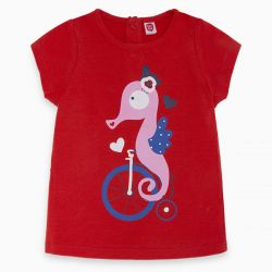 Prévente - Sea Riders - T-shirt rouge
