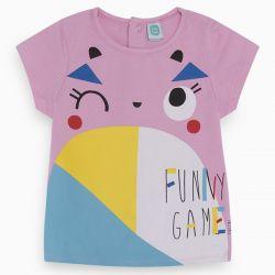 Prévente - Funny Game - T-shirt rose