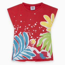 Prévente - Sunset Beach - T-shirt rouge
