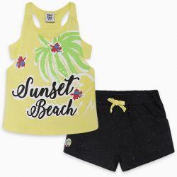 Prévente - Sunset Beach - Camisole jaune