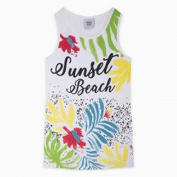 Prévente - Sunset Beach - Robe blanche