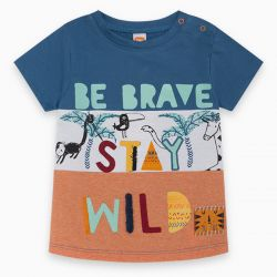 Prévente - Wild Side - T-shirt blocs