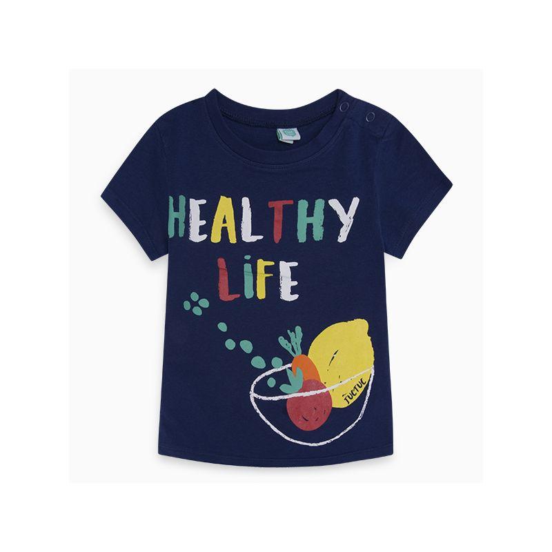 Prévente - Healthy Life - T-shirt marine