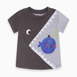 Prévente - Eco Club - T-shirt gris