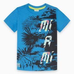 Prévente - Miami - T-shirt bleu