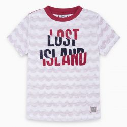 Prévente - Lost Island - T-shirt blanc