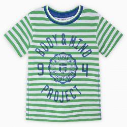 Prévente - Japan Training - T-shirt rayé vert