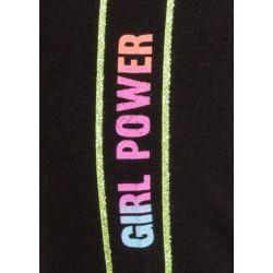 Prévente - Girls - Legging noir avec bande latérale