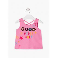 Prévente - Happy Day - Camisole rose