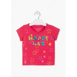 Prévente - Happy Day - T-shirt fraise