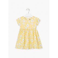 Prévente - Sunshine - Robe jaune imprimée